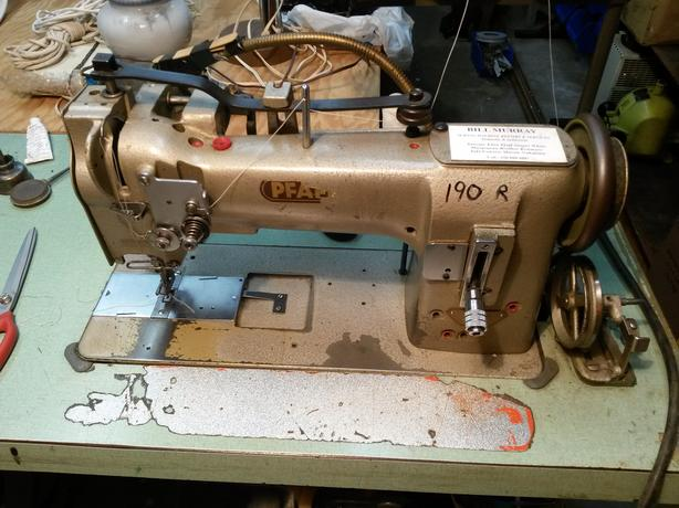 Pfaff 40 H40 Walking Foot Industrial Sewing Machine Outside Victoria Simple Pfaff Walking Foot Sewing Machine