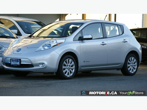 2014 Nissan LEAF S - Quick Charge Package - Backup Camera - STK#M8622
