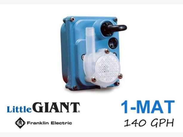 Pump ~ 140 GPH Imp.