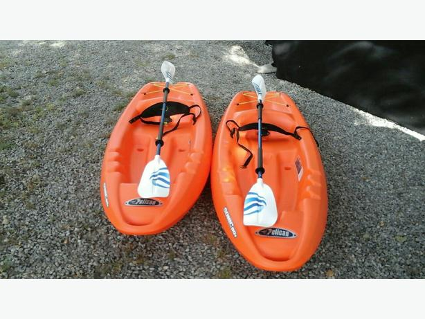2 BRAND NEW KAYAKS FOR SALE.