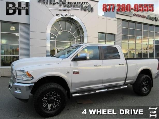 2012 Ram 3500 Laramie - Leather Seats - Air - Tilt - $313.51 B/W