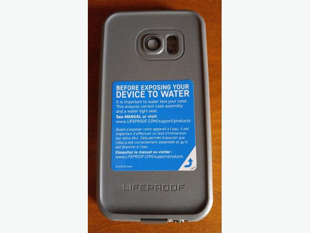 NEW LIFE PROOF CASE FOR GALAXY S7