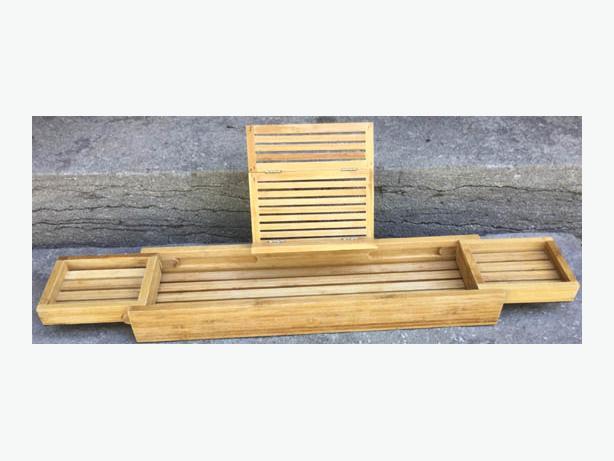 Bathtub Wood Caddy