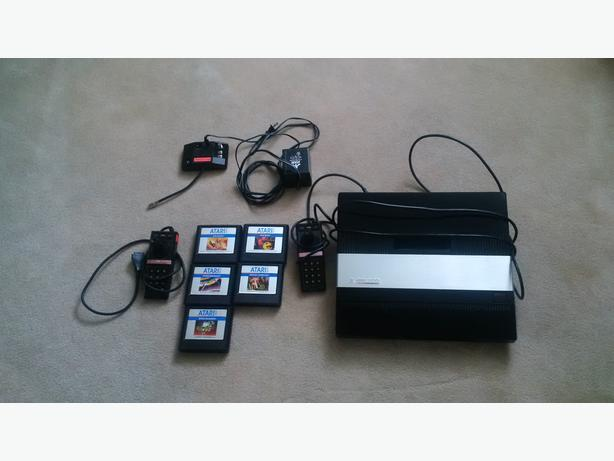 Atari 5200 Games Console *Games + Controllers + Power*