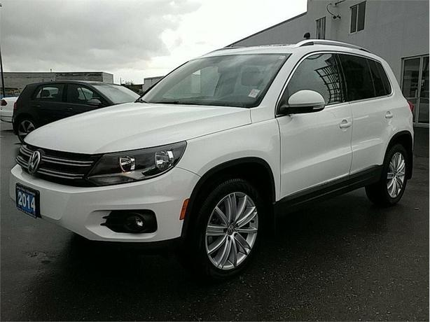 2014 Volkswagen Tiguan Highline 2.0T w/4MOTION LOW KMS ! BC Vehicle !