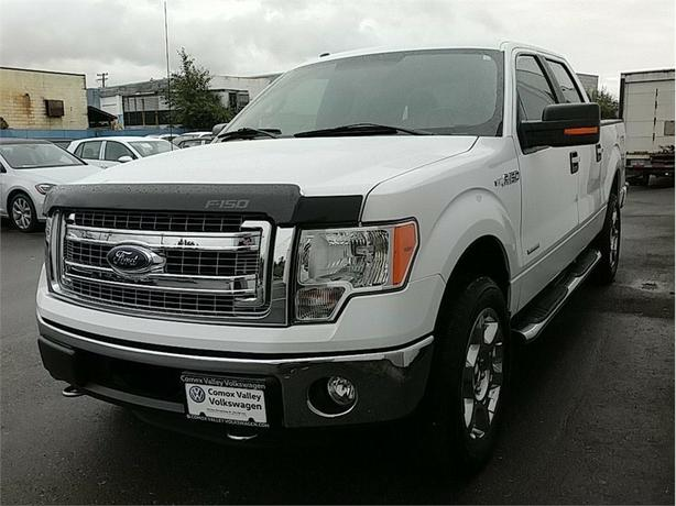 2013 Ford F-150 XLT ! 4x4 LOW KMS ! BC TRUCK ! CLEAN !