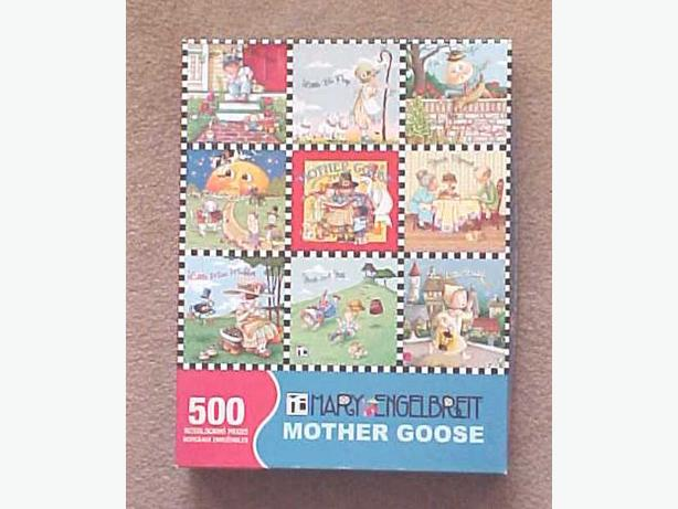 MOTHER GOOSE JIGSAW PUZZLE