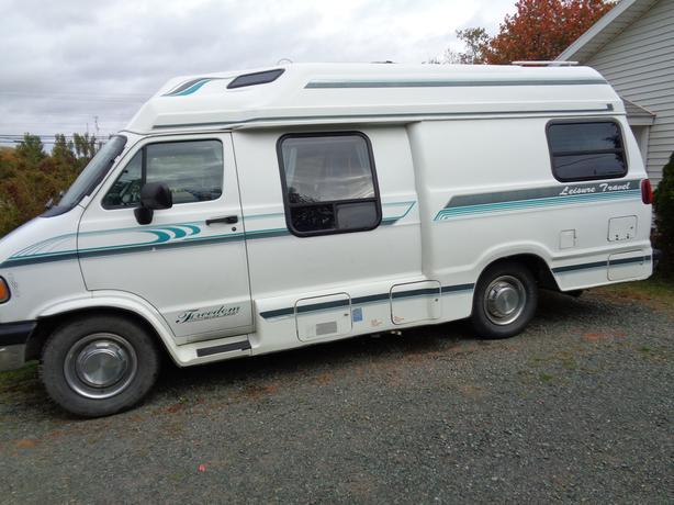 leisure travel camper van