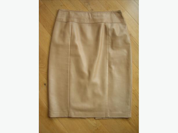 Italian Leather Danier Skirt