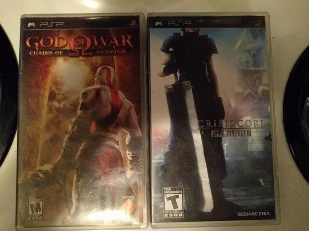  Log In needed $10 · God of War & Crisis Core (psp games)