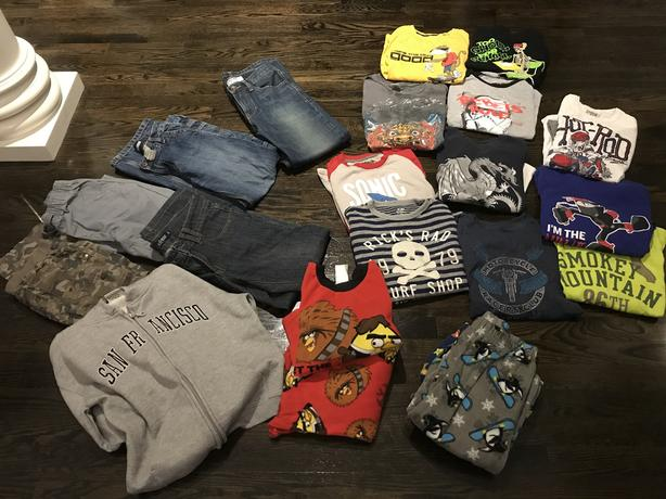 Boys size 10 Brand Clothing