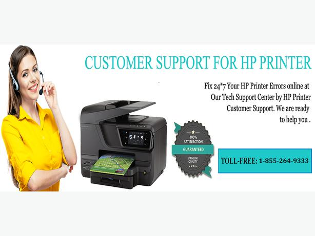 HP Customer Service Number 1-855-264-9333
