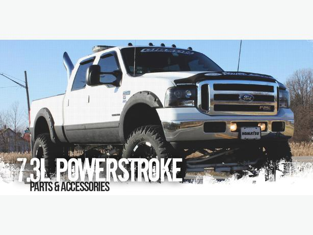 Ford 1999-2003 Powerstroke 7.3L Synthetic Oil and Filters