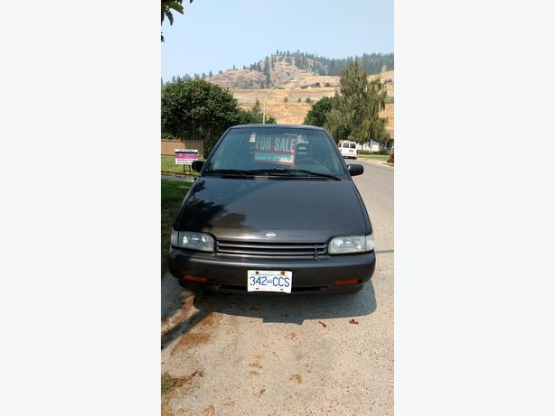 Mini Van 1992 Nissan All Wheel Drive