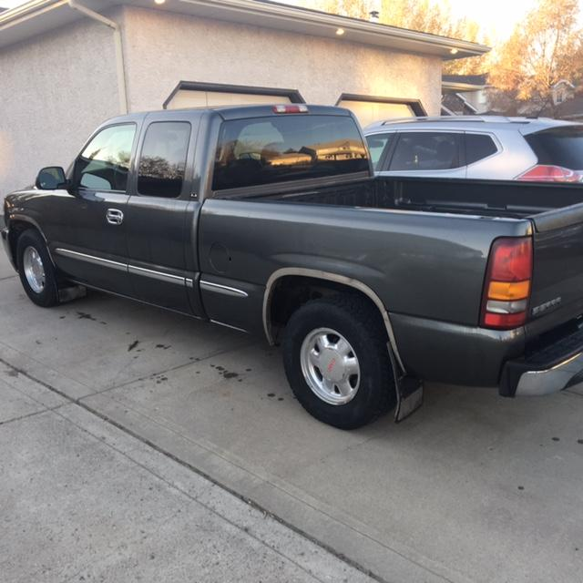 2000 gmc sierra sle 1500 pickup truck extended cab rural regina regina mobile. Black Bedroom Furniture Sets. Home Design Ideas