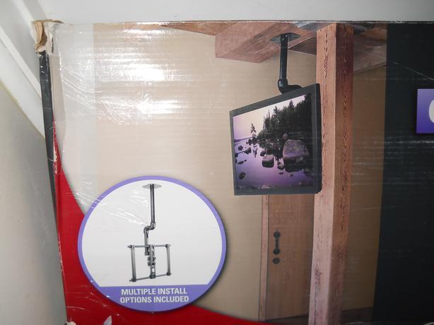 Sanus Visionmount flat panel TV ceiling mount .Model LC1A-B1