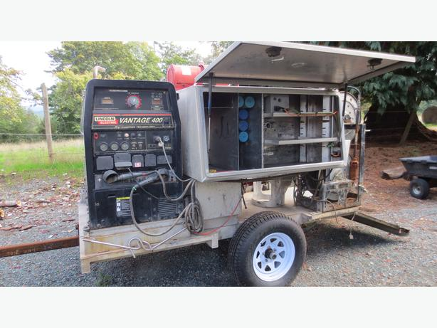 ALUMINUM WELDER SKID O.B.O. (marked down from $15,000)