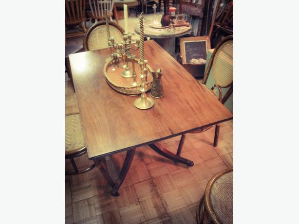 Vintage wood table - RETIREMENT SALE 50% OFF