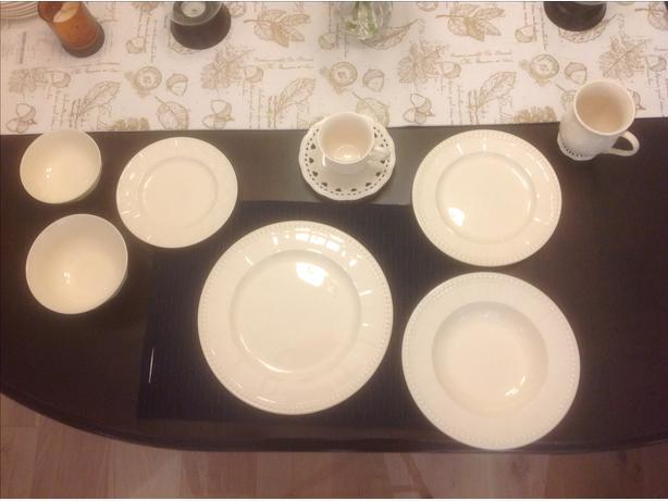 This dinnerware was purchased from Bowring. It is called the Ivory Pearl Collection. It is in good condition however some of the plates and bowls have ... & Dinnerware Saanich Victoria