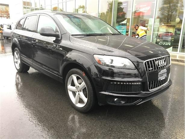 2012 Audi Q7 3.0 Sport (Tiptronic) No Accidents Local B.C.
