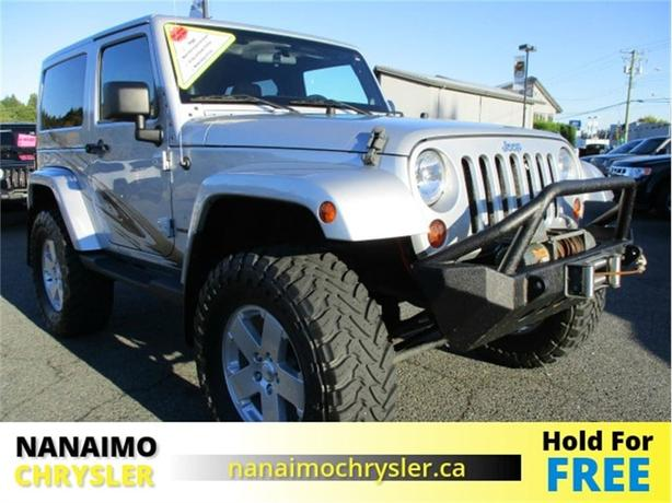 2011 Jeep Wrangler Sahara One Owner No Accidents