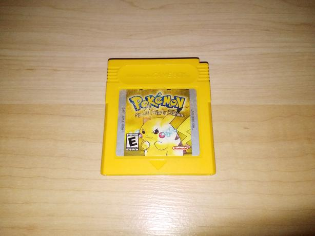 Pokemon Yellow Version For The Nintendo Gameboy - NEW BATTERY