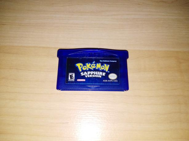 Pokemon Sapphire Version For The Nintendo Gameboy - NEW BATTERY