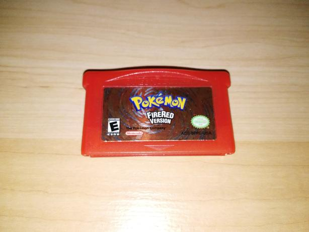 Pokemon Fire Red Version For The Nintendo Gameboy