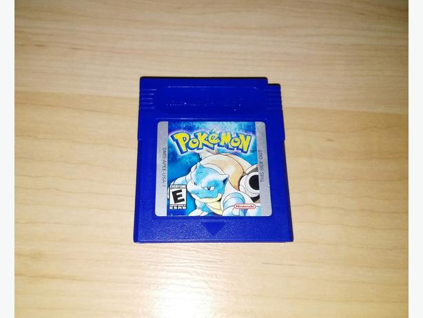 Pokemon Blue Version For The Nintendo Gameboy - NEW BATTERY