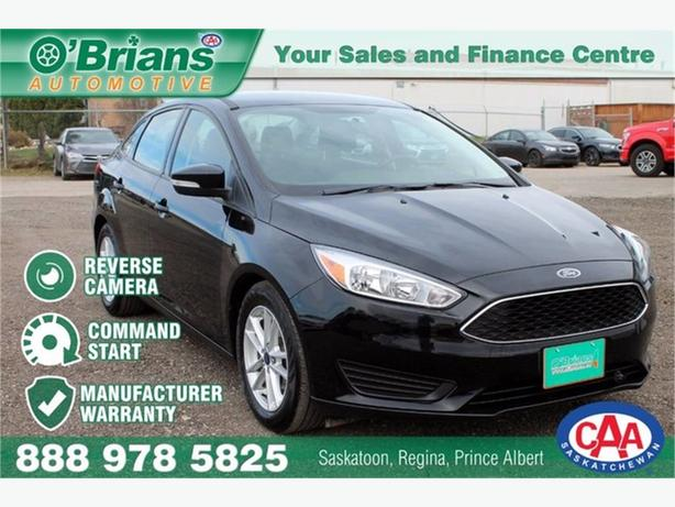 2016 Ford Focus SE w/Mfg Warranty, Command Start