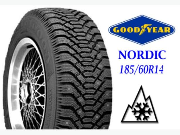 185 60R14 ~ Goodyear Nordic Winter Tire