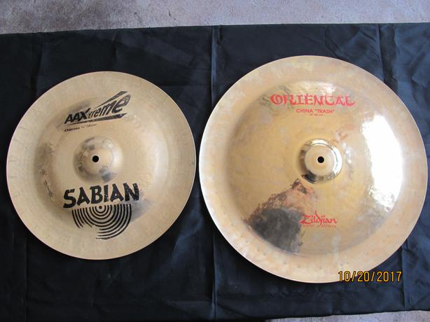 Sabian or Zildjian China