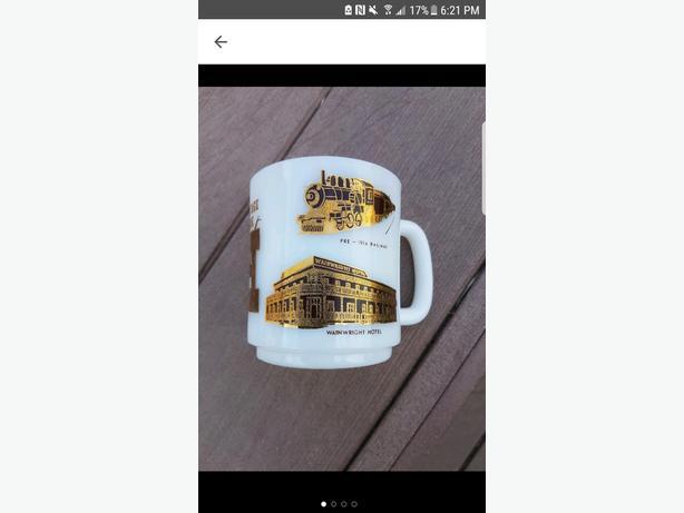 Vintage Calgary Heritage Park Souvenir Mug