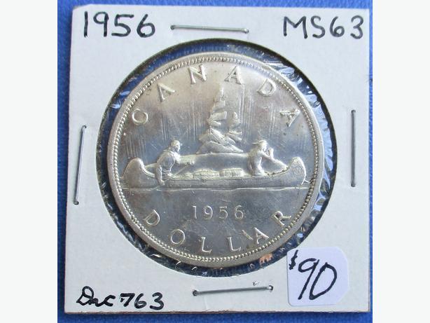 1956 Silver Dollar Kanata Ottawa