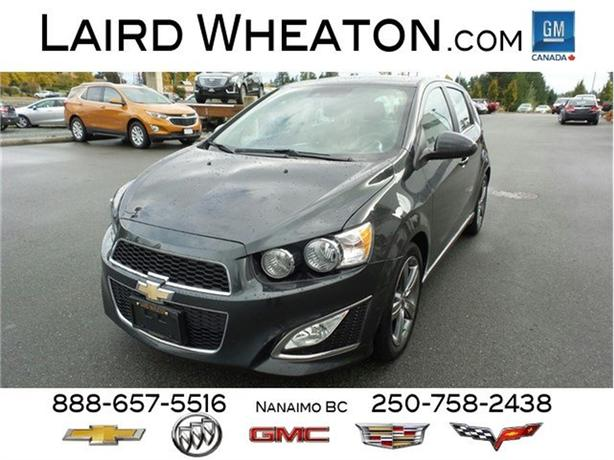 2015 Chevrolet Sonic RS Clean, Automatic, Back-Up Camera