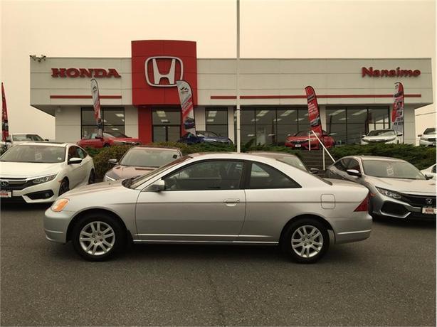 2003 Honda Civic Cpe 2dr Cpe Manual