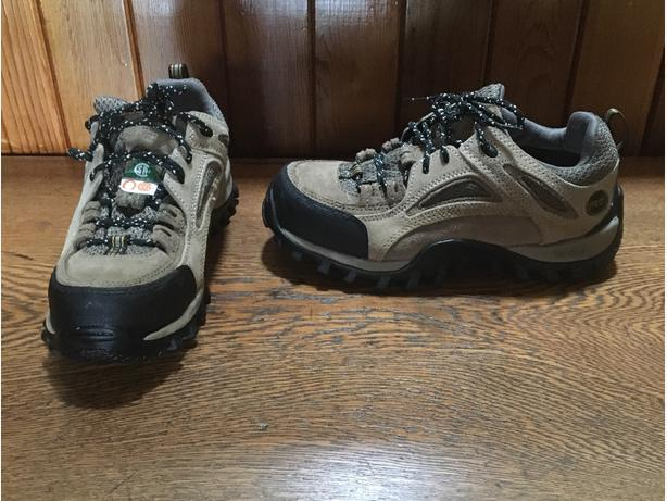Ladies Timberland Pro Series Athletic Hiker Style   Safety Shoes Size 7.5 W