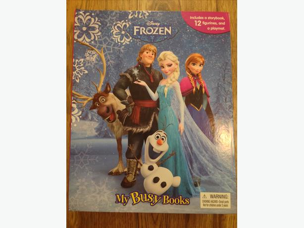Frozen: My Busy Book: Written by Disney, 2013 Edition