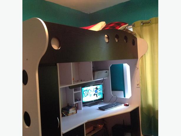 JYSK Loft bed with desk