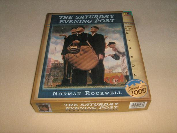 THE SATURDAY EVENING POST 1026 PIECES JIGSAW PUZZLE