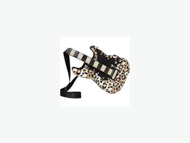 Guitar Handbag, designer Betsey Johnson