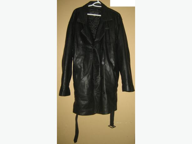 2 XXL leather coats in excellent condition