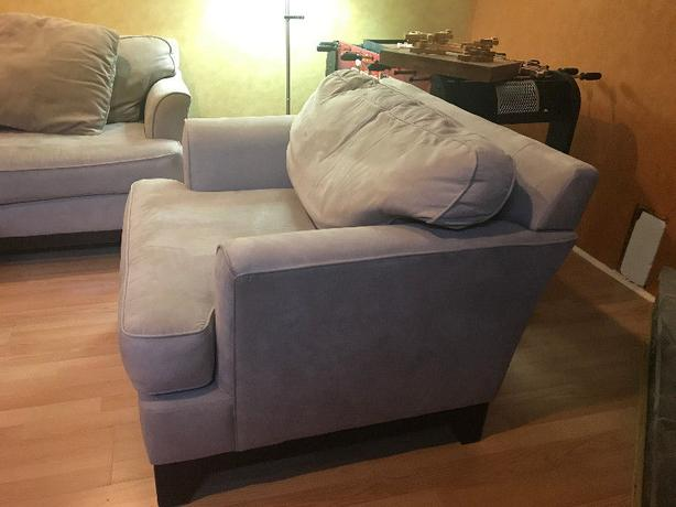3 seat and 1 seat Bauhaus couch