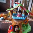 Weebles Treehouse Playset and Weeble Fire truck