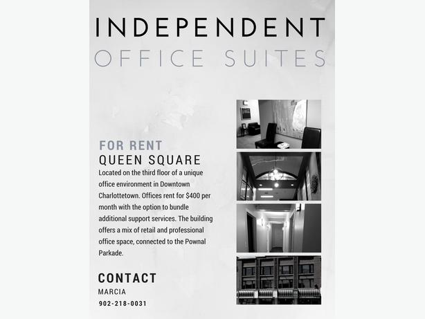 Independent Offices for rent