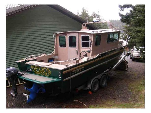 Silver Streak Cabin Cruiser For Sale - Helios