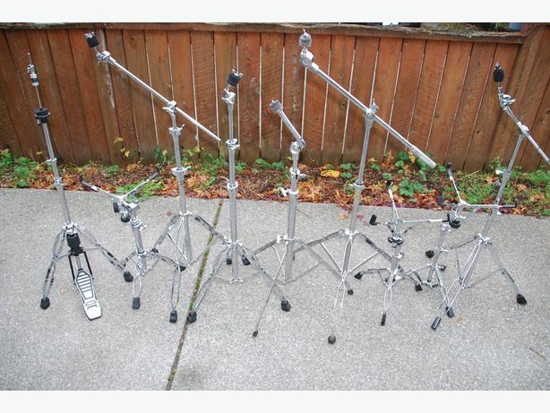 CYMBAL AND SNARE STANDS