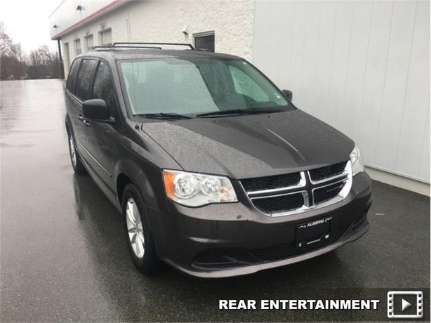 2016 Dodge Grand Caravan SXT  Rear DVD - Rear ViewCamera - AC