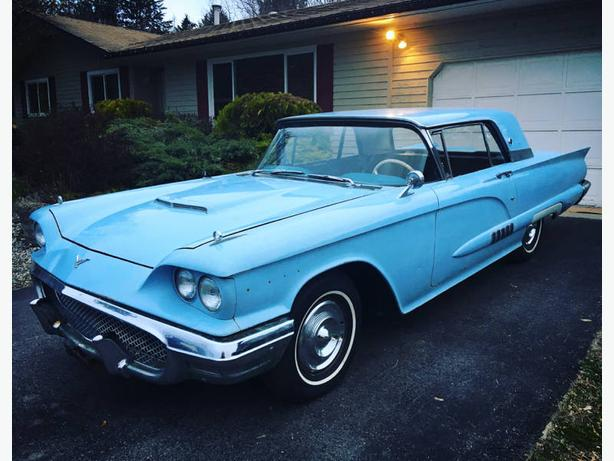 1958 Ford Thunderbird in West Kelowna