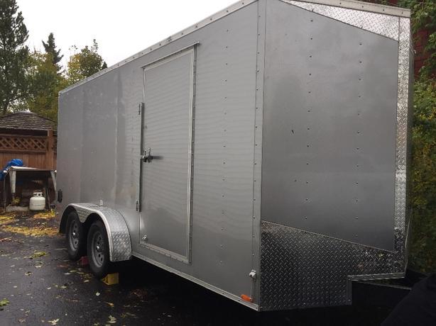 017 E Cargo Mate Tandem Axle trailer